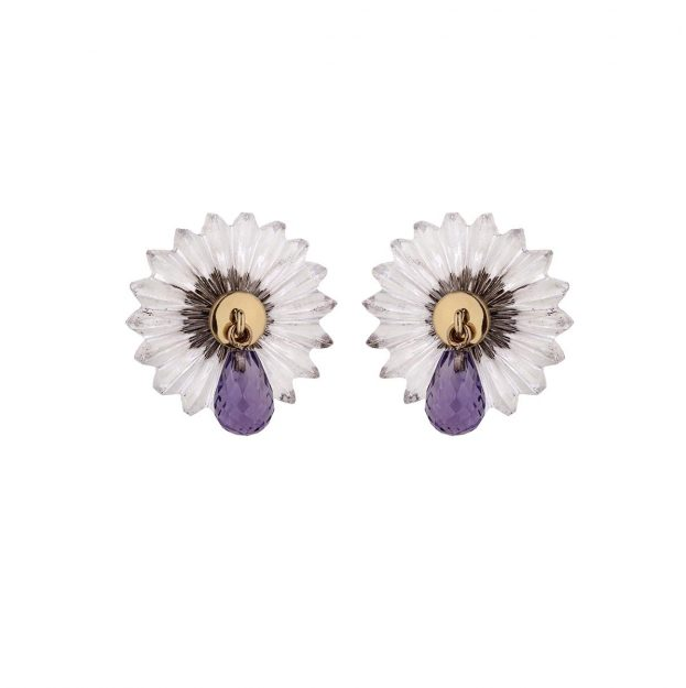 Summer Snow Drop Studs by Alice Cicolini